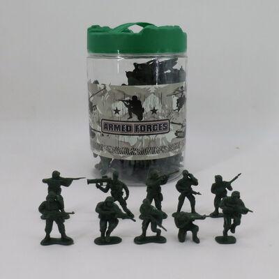 Mini soldados 100 unidades