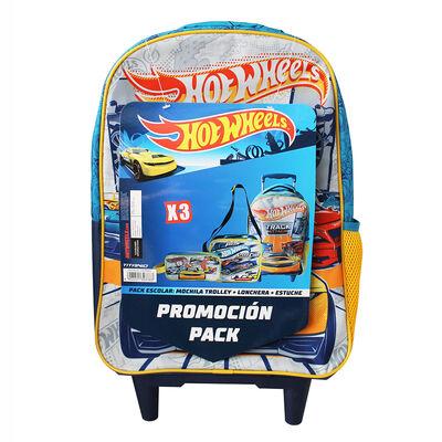 Pack Escolar Hot Wheels