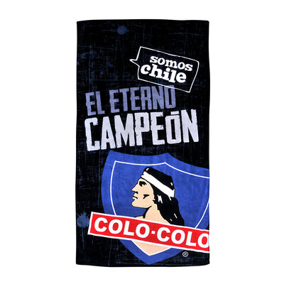 Toalla de Playa Colo-Colo  Campeon 70X140 Cm