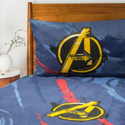 Sábana Estampada Avengers 1,5 Plazas