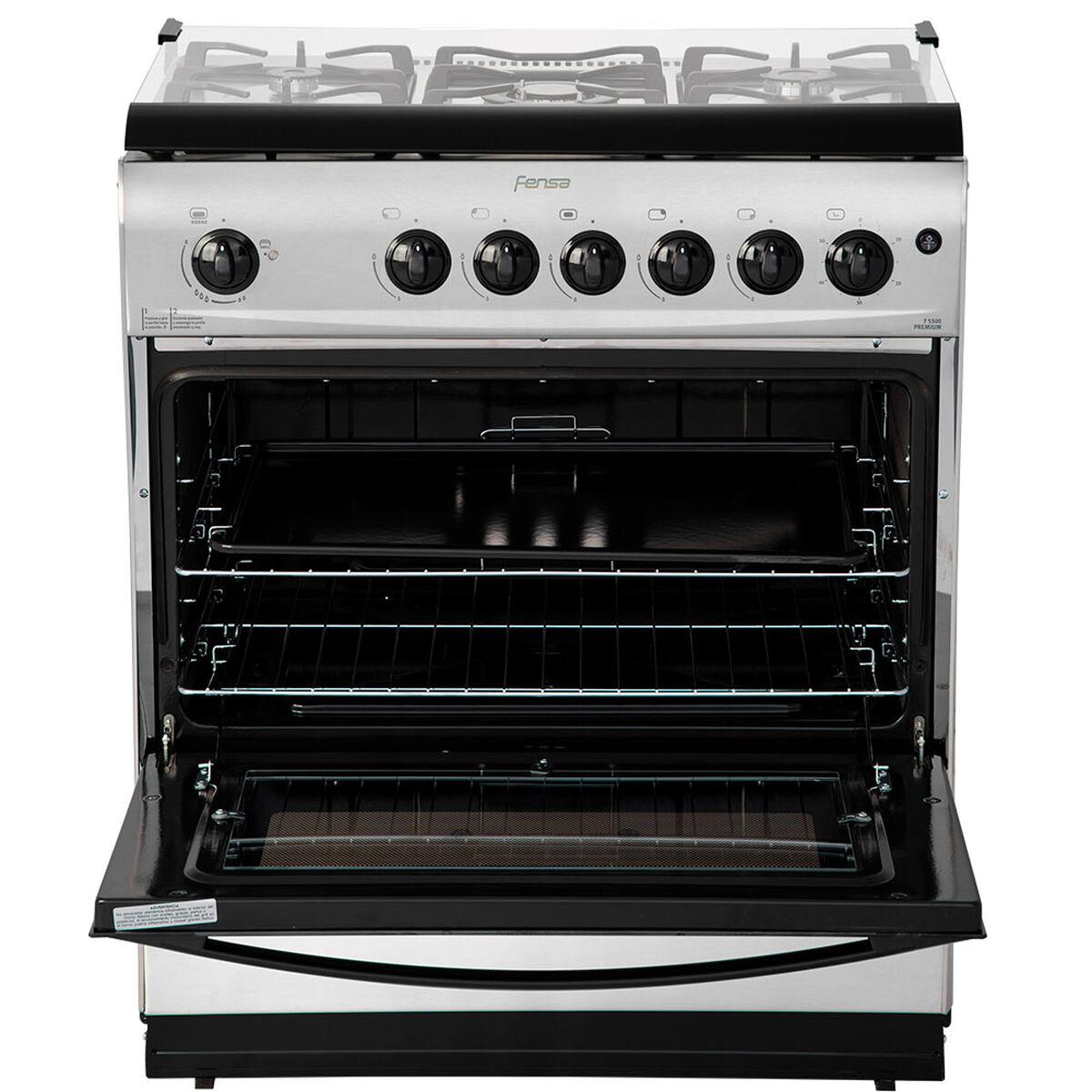 Cocina a Gas Fensa F5500 Premium 5 Quemadores