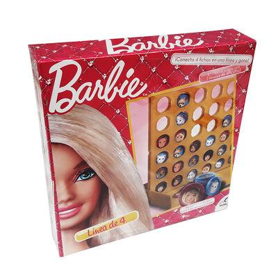 Juegos de Mesa Barbie Linea de 4