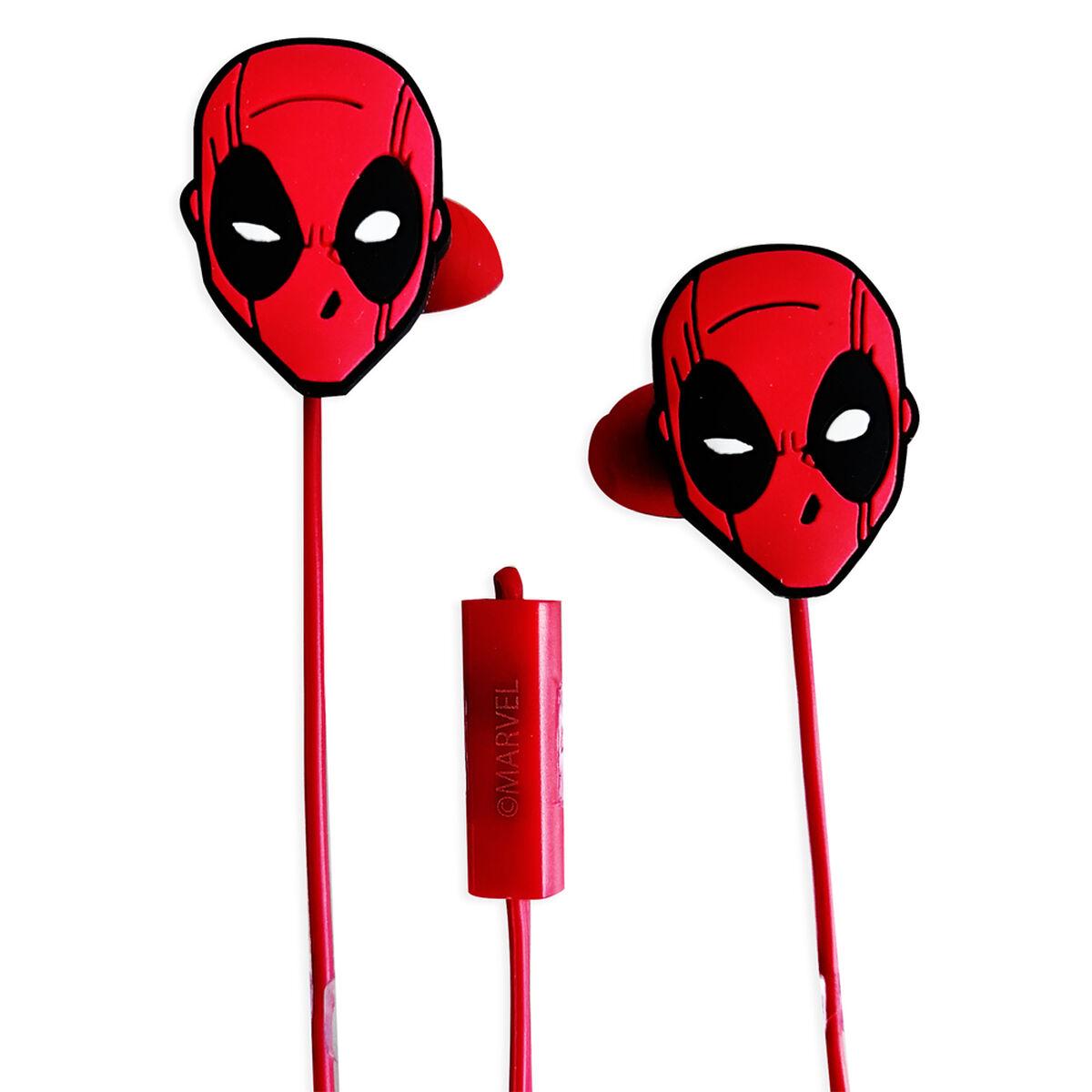 Audífonos In Ear Deadpool Marvel
