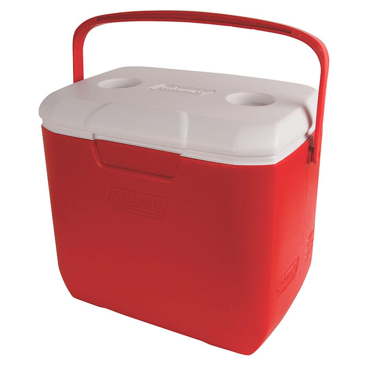 Cooler Coleman Nevera 30QT Rojo