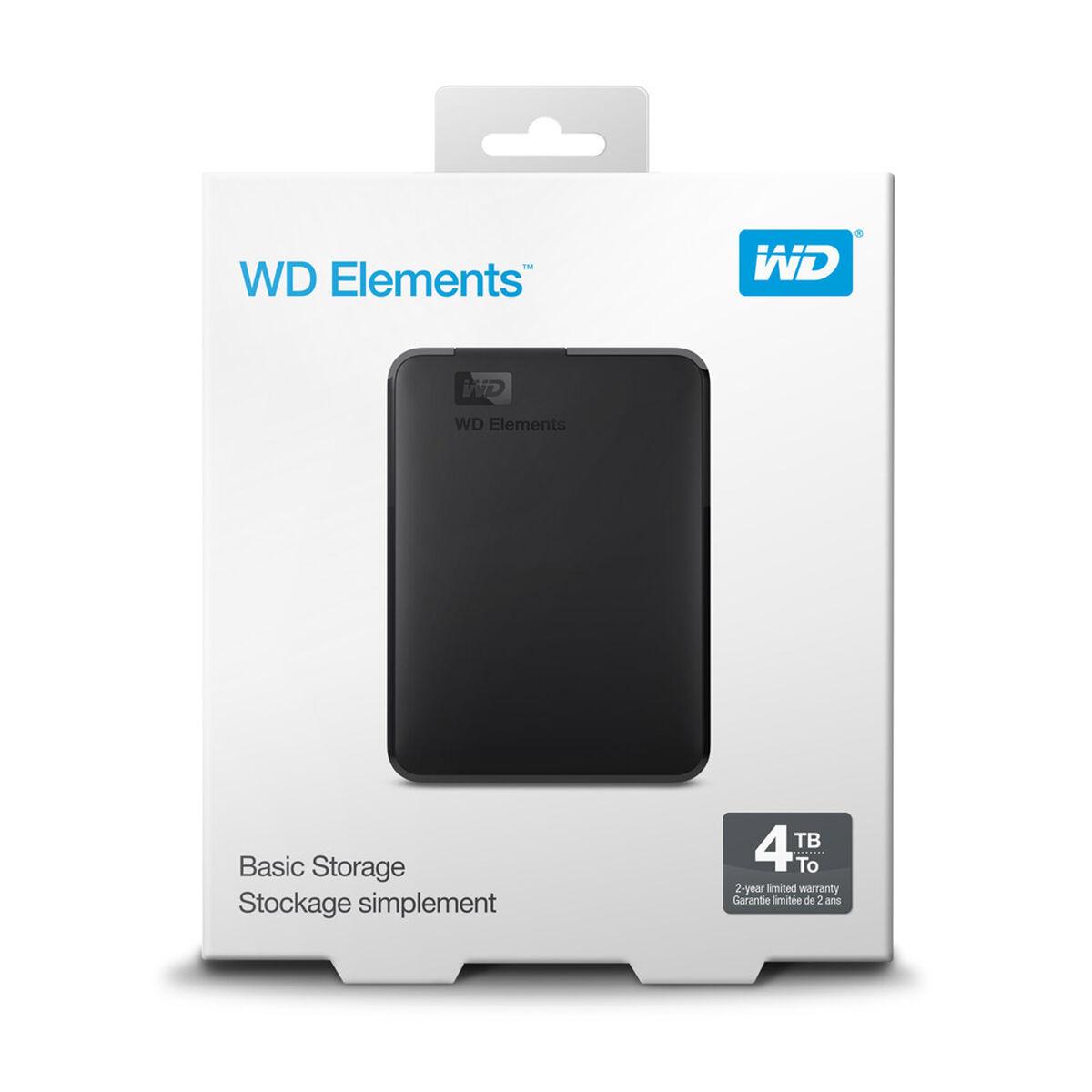 Disco Duro Externo WD 4TB Elements