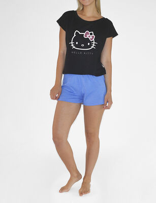 Pijama Corto Mujer Hello Kitty