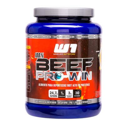 Proteína De Carne Beef Pro Win Miel 1 Kg. 30 Servicios