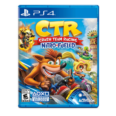 Juego PS4 Crash Team Racing Nitro-Fueled