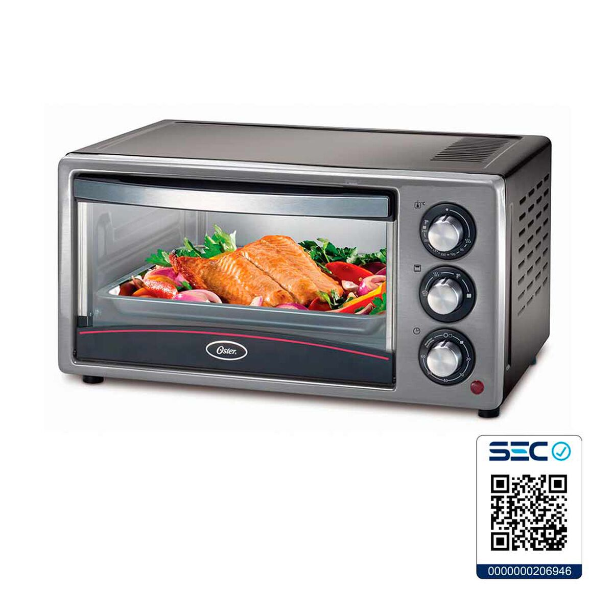 Horno Eléctrico Oster 15LTB 15 lts