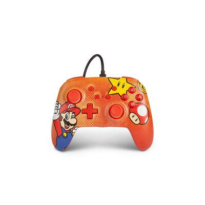 Control Nintendo Switch Power A Mario Vintage G