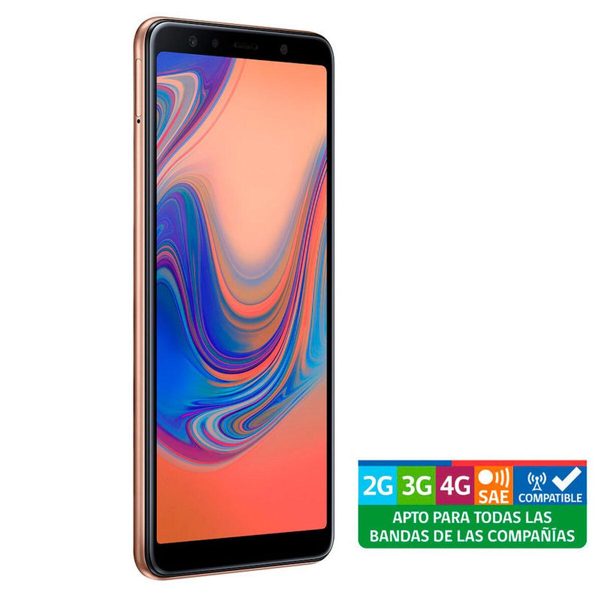 Celular Samsung A7 + Batería Portátil Samsung