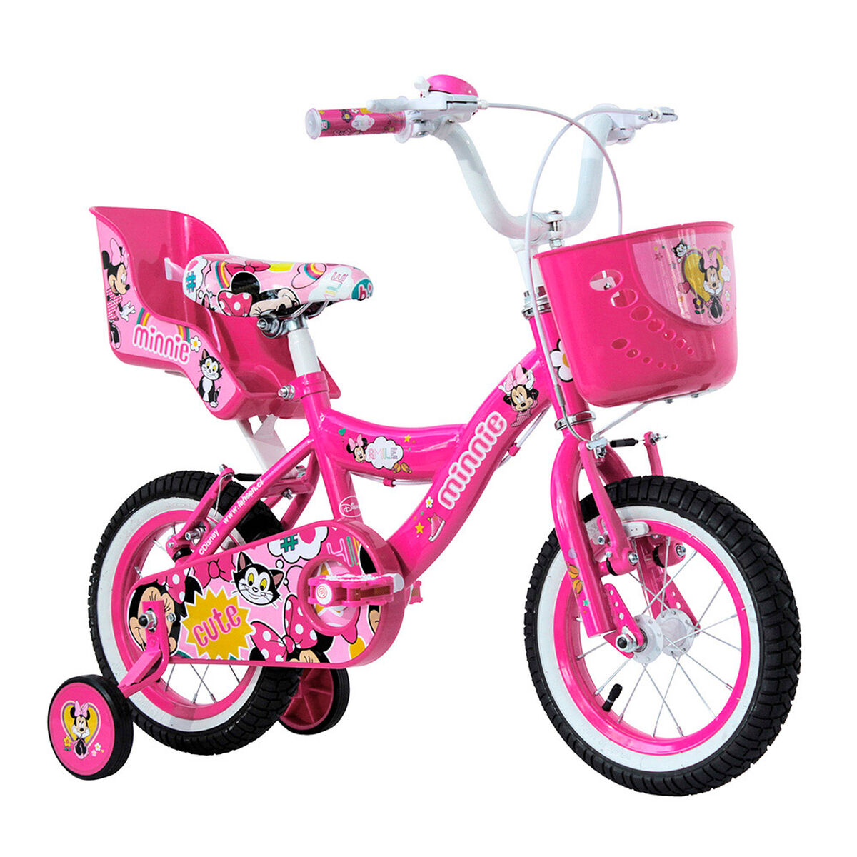 Bicicleta Lahsen BY11201 Minnie Aro 12
