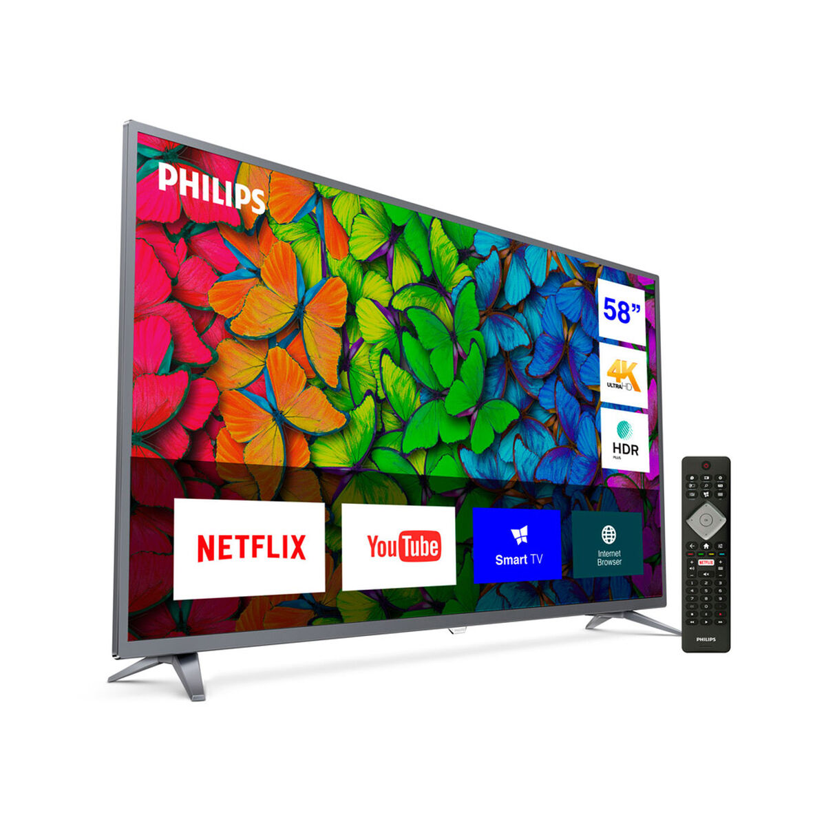 "LED 58"" Philips 58PUD6513 Smart TV Ultra HD 4K"