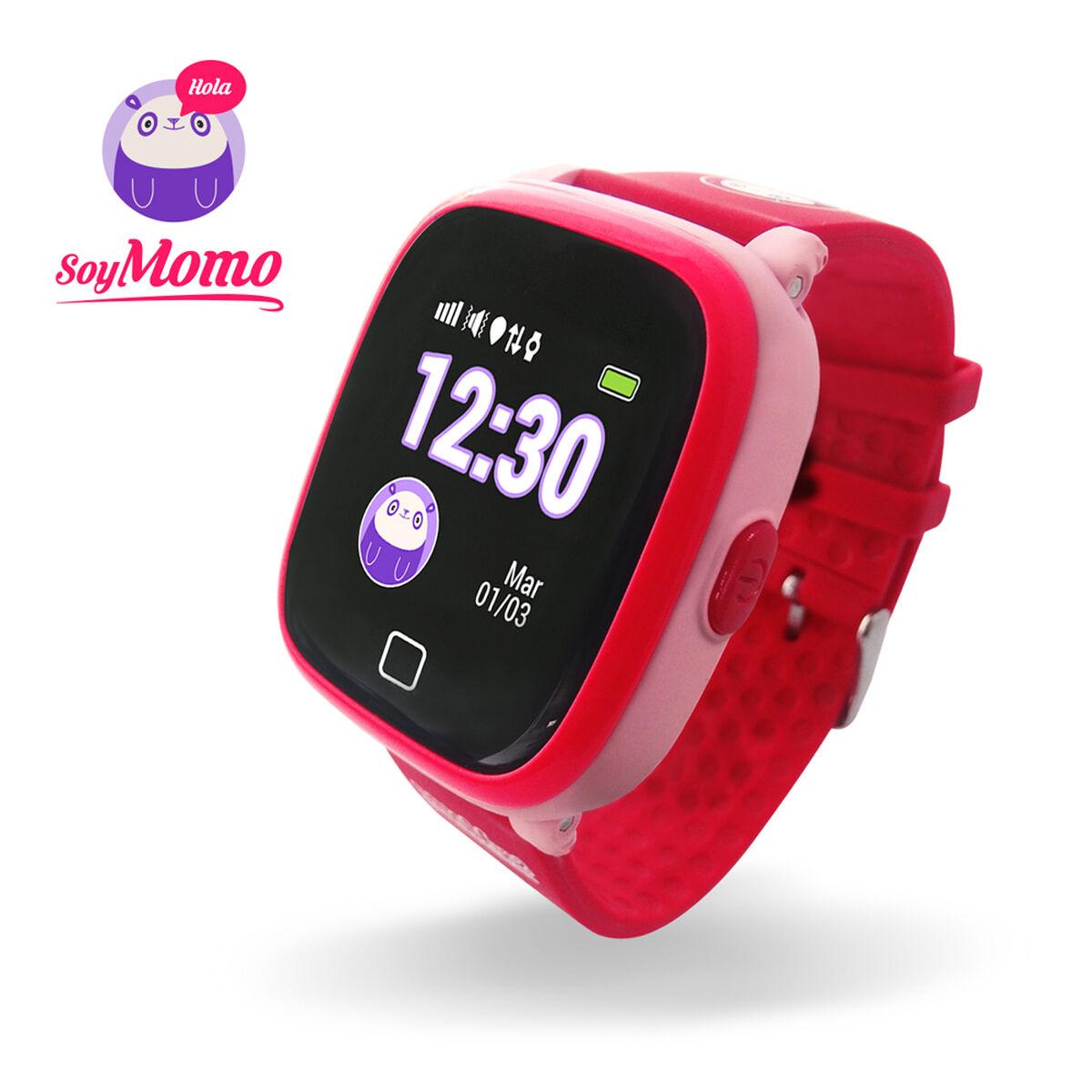 Smartwatch SoyMomo para niños Rosado con GPS