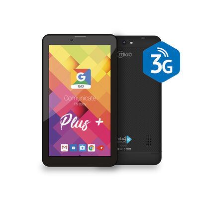 "Tablet Microlab MB4+ 3G Quad Core 1GB 16GB 7"" Negra"