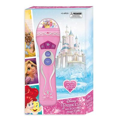 Microfono Musical Princesas Disney