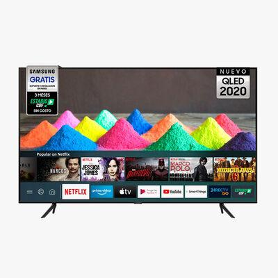 """LED 55"""" Samsung QN55Q60TAGX Smart TV 4K Ultra HD"""