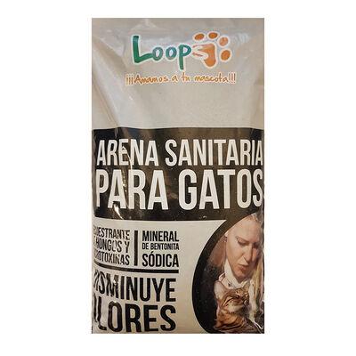 Arena Gato Piedra Loops 4.5 Kg