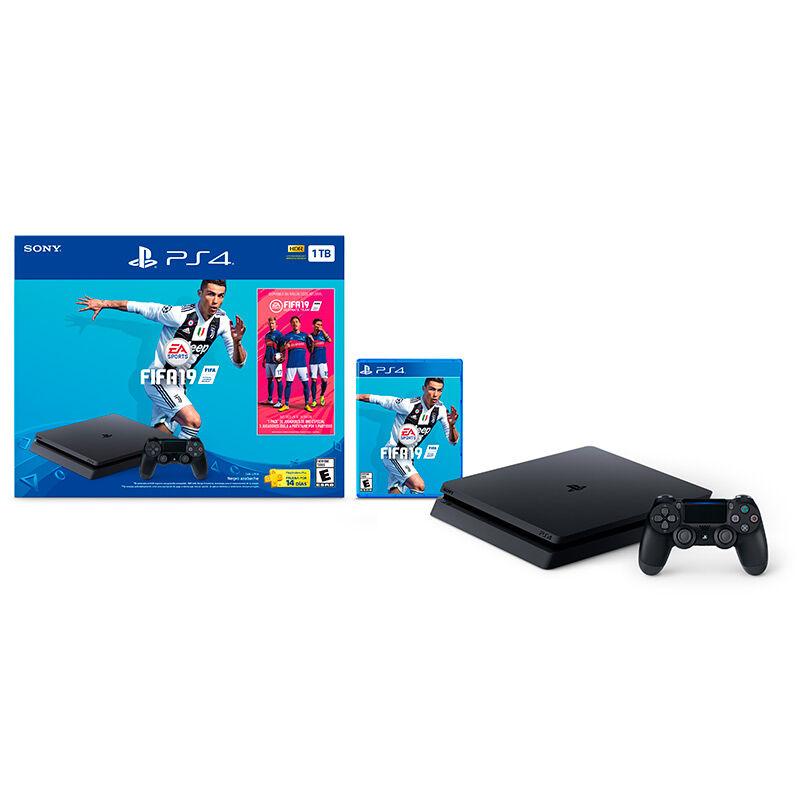 Sony PS4 Slim 1 TB + Fifa 2019