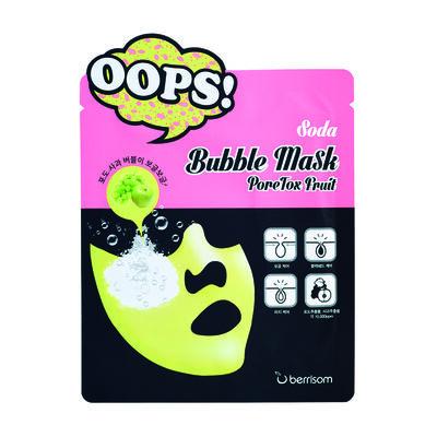 Mascarilla Facial Detox Soda Bubble Mask - PoreTox Fruit (X1 Un) Berrisom