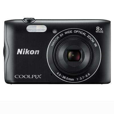 Cámara Nikon Coolpix A300 20,1MP Negra