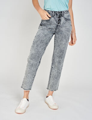 Jeans Cropped Mujer Icono