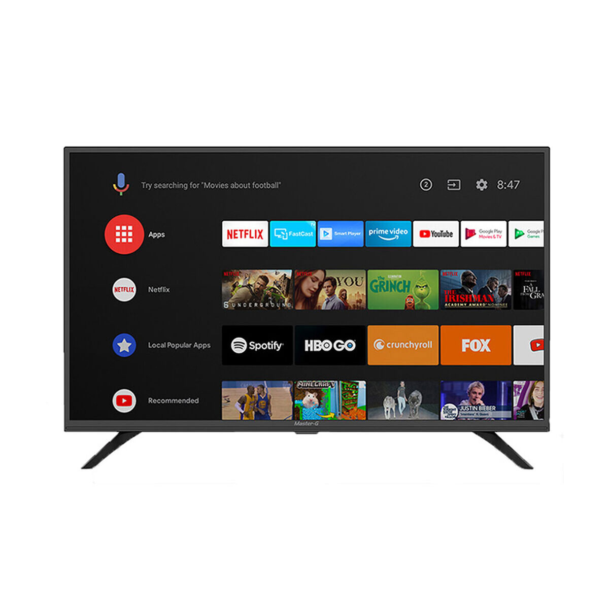 "Combo LED 32"" Master-G MGA3200 Smart TV HD + Soundbar MGSB250 Negro"