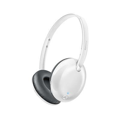 Audífonos Bluetooth Over Ear Philips SHB4405WT Flite Ultrlite Blancos