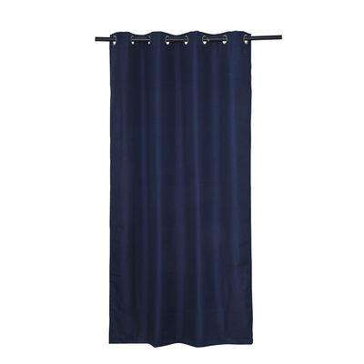 Cortina Blackout Mashini Argolla Regata Azul 140 x 220 cm