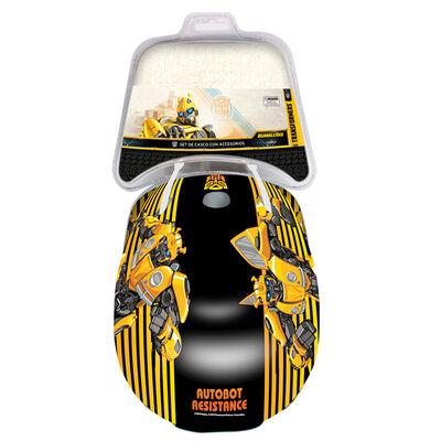 Casco Y Rodilleras Bumblebee Hasbro
