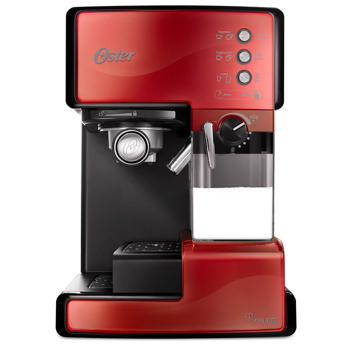 Cafetera Oster Prima Latte Roja 6601R