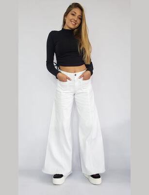 Jeans Wide Leg Mujer Santissima