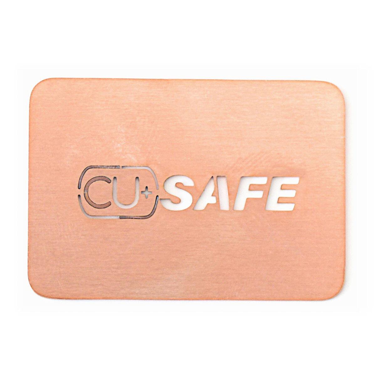 Placa Cobre CU+SAFE para Celular reduce Virus y Bacterias