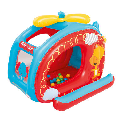 Piscina de pelotas Fisher Price Helicoptero