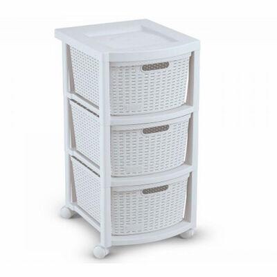 Organizador Plástico Rimax Rx9834 3 Cajones