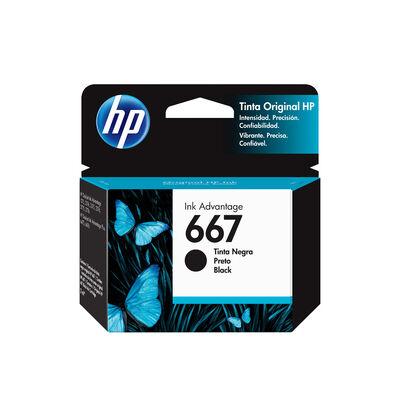 Tinta Cartridge HP 667 Negro 2 ml