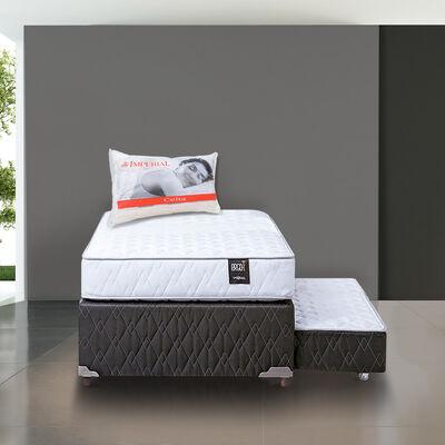 Divan 1,5 Plazas Rosen Ergo-T + Pack Almohadas Imperial Soft 45x65 cm