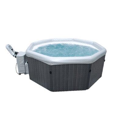 Hot Tub Inflable Mspa Tuscany 6 Premium Gris