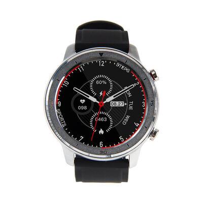 Smartwatch Lhotse RD7 Plateado Negro