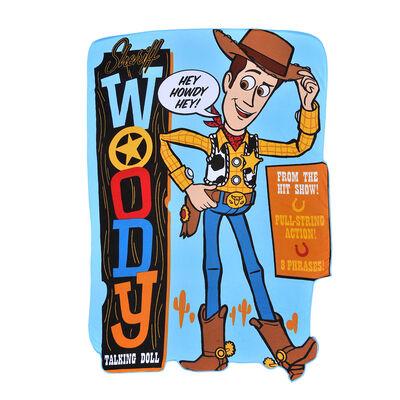 Toalla de Playa Mf. C/Forma Disney-Toy Story 4 Woody 93X130 Cm