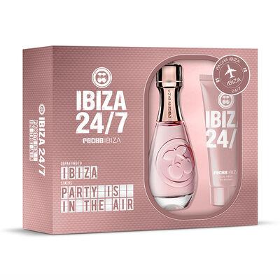 Set Pacha Ibiza 24/7 Her EDT 80 ml + Body Lotion 75 ml
