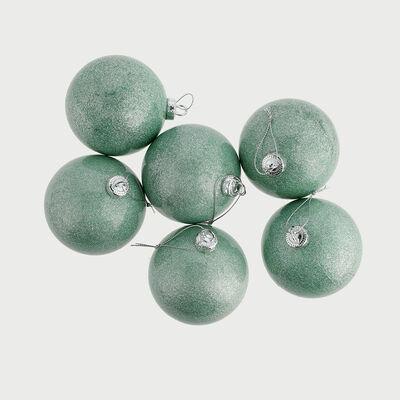 Set 6 Esferas Decorativa