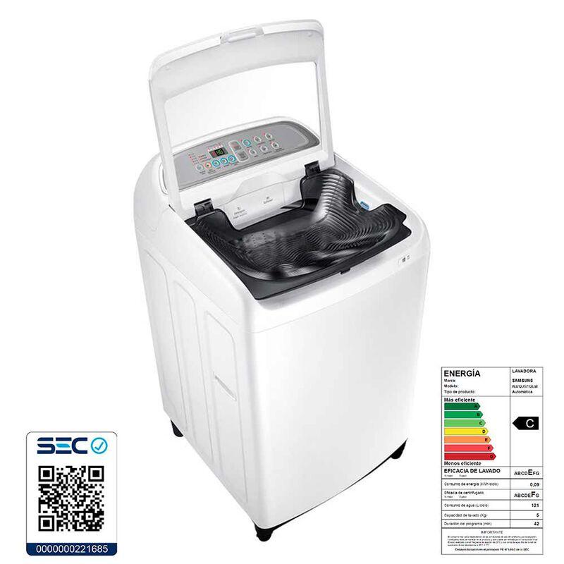 Lavadora Automática Samsung WA12J5712LW 12 kg