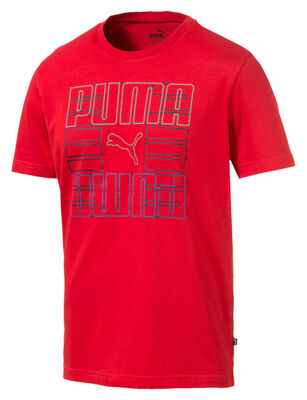 Polera Hombre Puma PUMA Brand Graphic