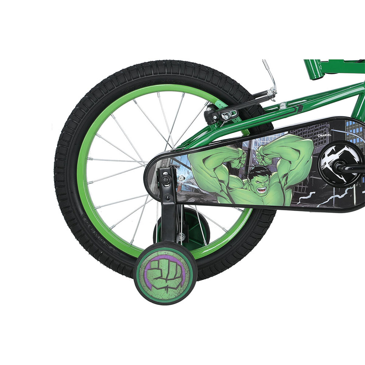 Bicicleta Disney Niño Hulk Aro 16