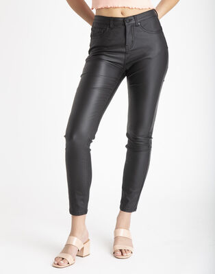 Jeans Push Up Coating Mujer Fiorucci