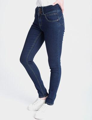 Jeans Indigo Mujer Icono Rihanna