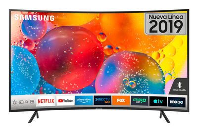 "LED 55"" Samsung UN55RU7300GXZS Smart TV 4K Ultra HD"