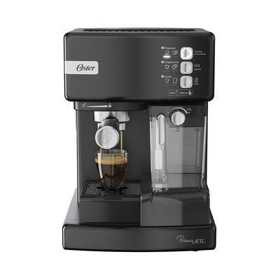 Cafetera de Espresso Oster Negra PrimaLatte 1,2 lts.