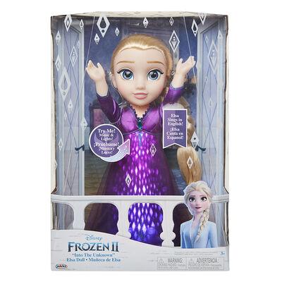 Muñeca Frozen Elsa Canta 20703